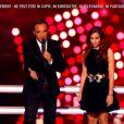 Hiba Tawaji face à Nög dans The Voice 4, le 7 mars 2015 sur TF1.