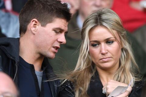 Steven Gerrard : Sa belle Alex, une maman ''stressée'' avant le grand départ...