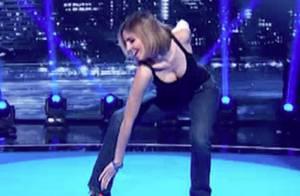 Alexandra Rosenfeld : Poses et danse très sexy, Camille Combal sous le charme