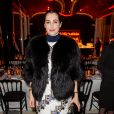 Amira Casar à l'Aftershow Christian Dior lors de l'inauguration de la discothèque Les Bains Douches à Paris. Le 6 mars 2015.