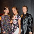 Noor Fares, Audrey De Broglie et Olympia Scarry - Aftershow Christian Dior lors de l'inauguration de la discothèque Les Bains Douches à Paris. Le 6 mars 2015.
