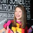 Joséphine Japy - Conférence de presse des nominations des Prix Patrick Dewaere et Romy Schneider au Sofitel Paris le Faubourg à Paris le 9 mars 2015