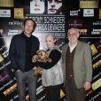 Eric Elmosnino et Reda Kateb - Conférence de presse des nominations des Prix Patrick Dewaere et Romy Schneider au Sofitel Paris le Faubourg à Paris le 9 mars 2015