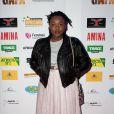 Yseult assiste à la cérémonie des GAFA de la Femme africaine de l'année, qui se tenait au Seven Spirit, à Paris, le samedi 7 mars 2015.