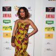 Alicia Fall assiste à la cérémonie des GAFA de la Femme africaine de l'année, qui se tenait au Seven Spirit, à Paris, le samedi 7 mars 2015.