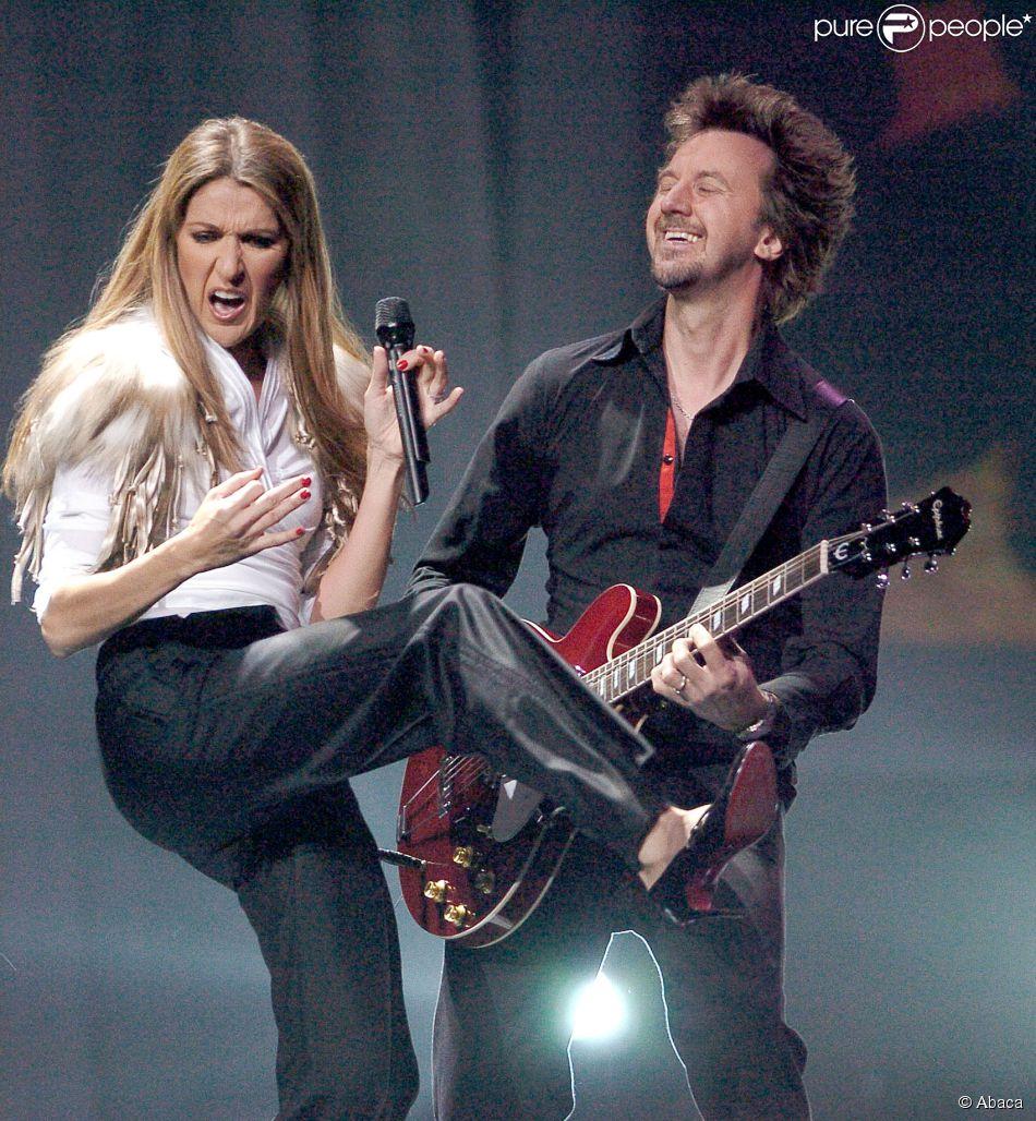 Céline Dion et André Coutu, aux World Music Awards à Las Vegas, le 15 septembre 2004