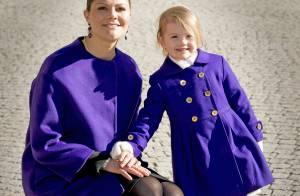 Victoria et Estelle de Suède : Mère et fille assorties pour une fête royale