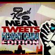 """Barack Obama était l'invité du Jimmy Kimmel Live ! du 12 mars 2015, où il a eu le droit à sa séquence """"Mean Tweets"""""""