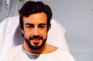 Fernando Alonso : Plage et sport avec sa belle Lara Alvarez après l'accident