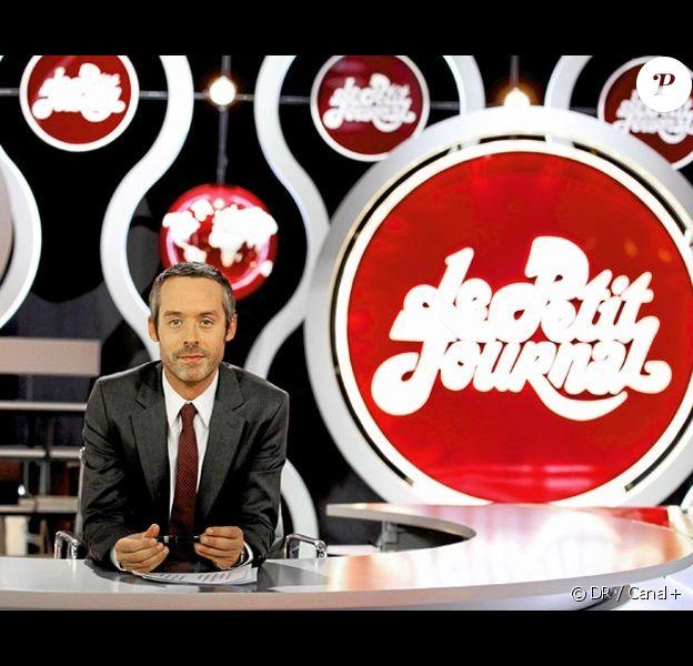 Yann Barthès présente Le Petit Journal, tous les soirs à 20h25 sur Canal+.