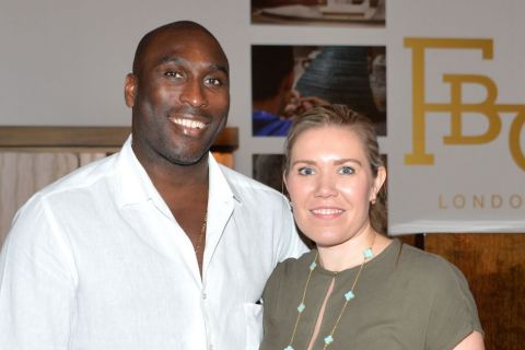 Sol Campbell : Retraité du foot in love et fier de son épouse Fiona Barratt