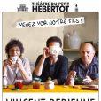 Affiche du spectacle de Vincent Dedienne, S'il se passe quelque chose, avec ses parents