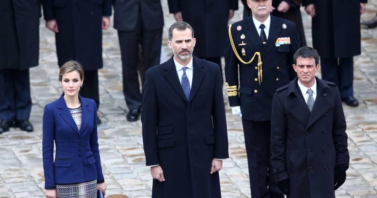 C R Monie Officielle De Bienvenue Pour Le Roi Felipe Vi Et