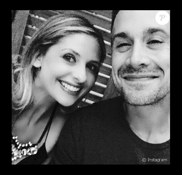 Sarah Michelle Gellar et son mari, le 24 mars 2015