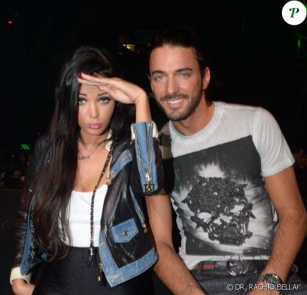 EXCLU : Nabilla et Thomas au Loft Metropolis, samedi 15 juin 2013