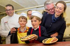 Laurent et Claire de Belgique: Les jumeaux Aymeric et Nicolas en mode Top Chef !