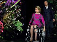 Mathilde de Belgique : Fashionista en fauteuil roulant, elle éblouit encore !