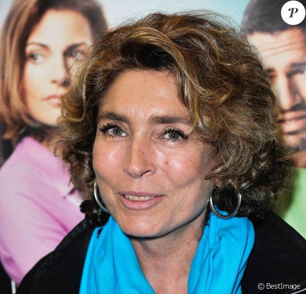 Marie-Ange Nardi - People à la générale de la pièce Ma belle-mère, mon ex et moi à la Comédie Caumartin à Paris, le 6 octobre 2014.