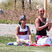 Britney Spears, Patrick Dempsey : Supporters de leurs enfants footeux !