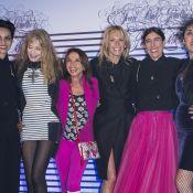 Estelle Lefébure, Kylie Minogue, Arielle Dombasle craquent pour l'expo Gaultier