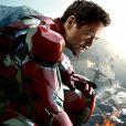 Affiche du film Avengers - L'ère d'Ultron avec Robert Downey Jr. (Iron Man)
