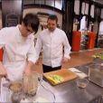 dans  Top Chef 2015  (épisode 11, la demi-finale), le lundi 6 avril 2015 sur M6.