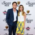 Melissa Benoist & Blake Jenner à la première de The Longest Ride au Chinese Theatre, Hollywood, Los Angeles, le 6 avril 2015.