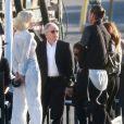 Exclusif - Gwen Stefani et son mari Gavin Rossdale - Anniversaire de Robert Downey Jr. qui fête ses 50 ans le 4 avril 2015 avec de nombreux invités au Barker Hangar à Santa Monica.