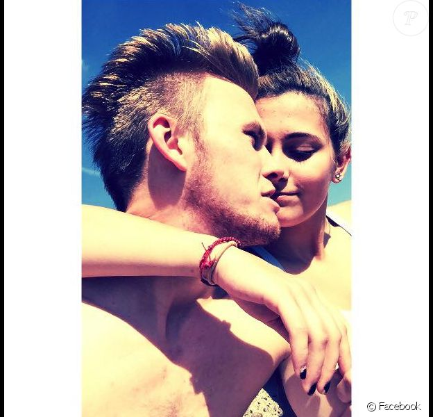 Paris Jackson et son petit ami Chester sur Facebook, le 23 mars 2015