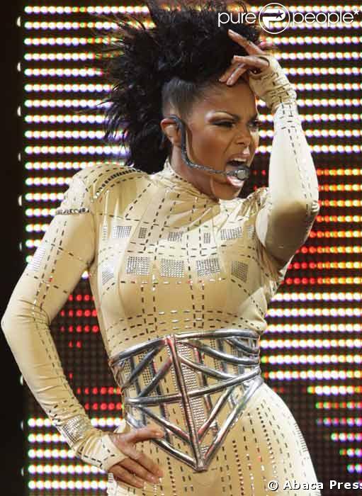 Janet Jackson en concert a Los Angeles le 17 Septembre 2008