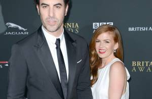 Isla Fisher a accouché de son 3e enfant : Son mari Sacha Baron Cohen aux anges