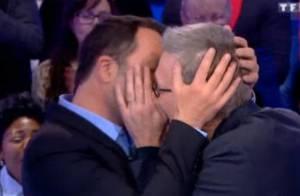 Arthur et Laurent Ruquier : Leur doux baiser échangé en pleine émission...