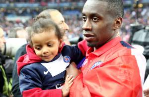 Blaise Matuidi et Thiago Silva, avec leurs enfants, fêtent la victoire du PSG