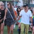 "Stacy Keibler, Jared Pobre au 2ème jour du Festival ""Coachella Valley Music and Arts"" à Indio, le 11 avril 2015"