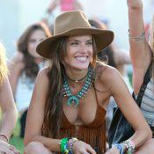 Coachella : Alessandra Ambrosio ose le décolleté sexy face à Lea Michele in love
