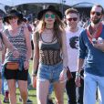 "Behati Prinsloo au 2ème jour du Festival ""Coachella Valley Music and Arts"" à Indio, le 11 avril 2015"