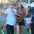 "Gigi Hadid au 2ème jour du Festival ""Coachella Valley Music and Arts"" à Indio, le 11 avril 2015"