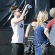 "Brooklyn Beckham - People au 1er jour du Festival ""Coachella Valley Music and Arts"" à Indio le 10 avril 2015"
