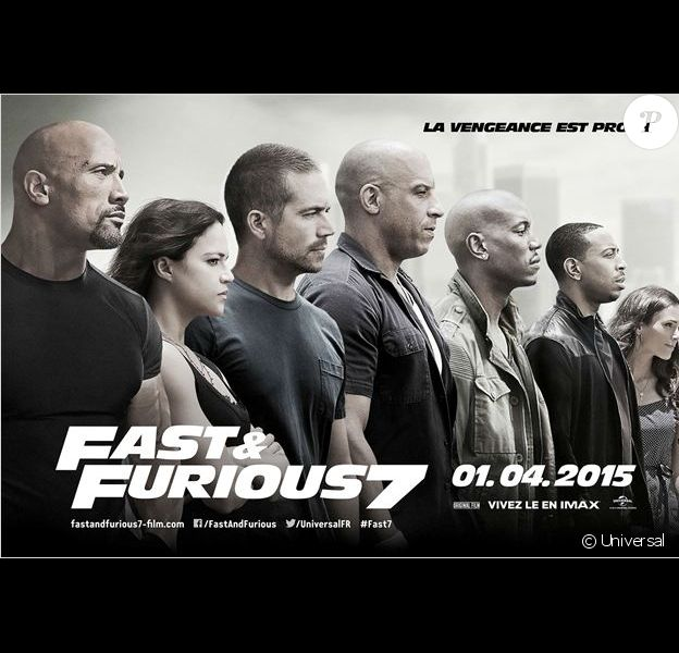 Poster de Furious 7.