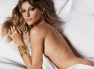 Gisele Bündchen nue sous son drap : campagne sexy pour la jeune retraitée !
