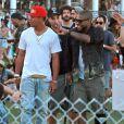 """Usher au 3ème jour du Festival de """"Coachella Valley Music and Arts"""" à Indio, le 11 avril 2015"""
