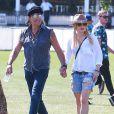 """Richie Sambora, Orianthi au 3ème jour du Festival de """"Coachella Valley Music and Arts"""" à Indio, le 11 avril 2015"""