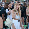 """Gigi Hadid au 3ème jour du Festival de """"Coachella Valley Music and Arts"""" à Indio, le 11 avril 2015"""