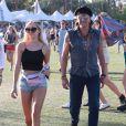 """Richie Sambora et sa fille Ava Sambora au 3ème jour du Festival de """"Coachella Valley Music and Arts"""" à Indio, le 11 avril 2015"""