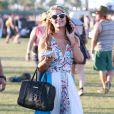"""Paris Hilton au 3ème jour du Festival de """"Coachella Valley Music and Arts"""" à Indio, le 11 avril 2015"""