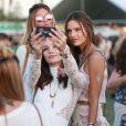 """Alessandra Ambrosio au 3ème jour du Festival de """"Coachella Valley Music and Arts"""" à Indio, le 11 avril 2015"""