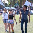 """Richie Sambora et Orianthi au 3ème jour du Festival de """"Coachella Valley Music and Arts"""" à Indio, le 11 avril 2015"""