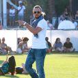 """Gabriel Aubry au 3ème jour du Festival de """"Coachella Valley Music and Arts"""" à Indio, le 11 avril 2015"""