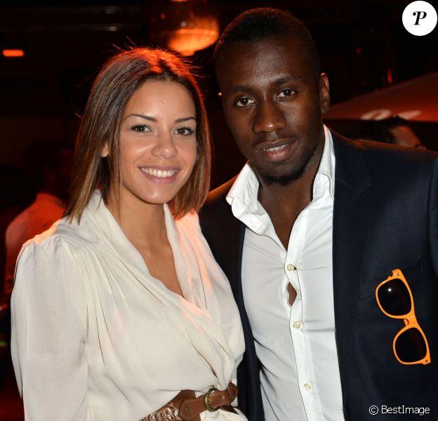 Exclusif - Blaise Matuidi et sa femme Isabelle lors de l'anniversaire Orange à l'Electric à Paris le 9 septembre 2014