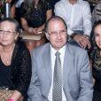 Les parents de Gisele Bündchen Vania et Valdir, ont assisté aux adieux de Gisele Bündchen aux défilés à l'occasion du défilé Colcci à Sao Paulo au Brésil le 15 avril 2015.